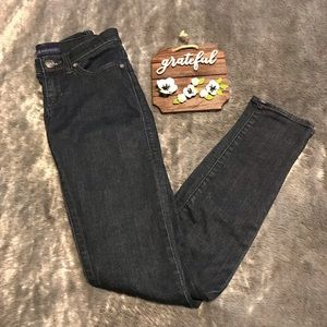 Rock & Republic Dark Wash Skinny Jeans